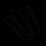 Ikona symbolicznie przedstawiająca frytki